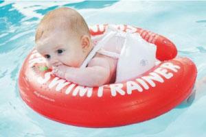 Baby on SWIMTRAINER Classic float