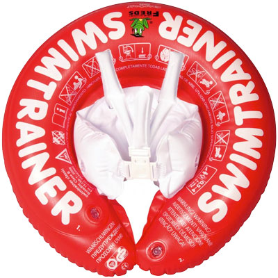 Image of SWIMTRAINER Classic Red baby swimming float